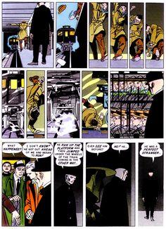 Bernard Krigstein: Master Race Diría que esta (y las que la rodean) es una de las páginas de cómic más importantes de la historia del medio.