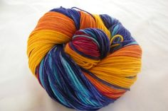 Desert Vista Dyeworks Logo Colorway Gradient Lace Weight | desertvistadyeworks - Knitting on ArtFire