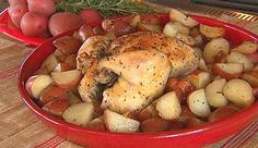 Rosemary Lemon Chicken and Potatoes from P. Allen Smith