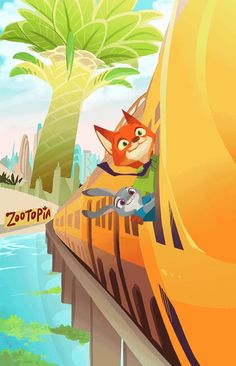Zootopia - Nick Wilde x Judy Hopps - Wildehopps Disney Pixar, Disney And Dreamworks, Disney Magic, Disney Art, Disney Movies, Disney Characters, Zootopia Comic, Zootopia Art, Zootopia 2016