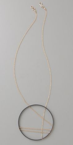 VANESSA GADE-USA Jewelry - Inner Circle Large Crisscross Necklace