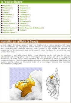 Corsica - Région de Balagna - Algajola - Aregno - Avapessa - Belgodere - Cateri - Corbara - Costa - Feliceto- Ile-Rousse - Lavatoggio - Mausoleo - Monticello -Muro - Nessa - Novella - Occhiatana - Olmi-Cappella - Palasca - Pigna - Pioggiola - Sant'Antonino - Santa-Reparata-Di-Balagna - Speloncato - Vallica - Ville-di-Paraso