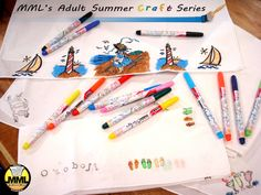 Tomorrow, Wednesday, June 8, from 6-7:30 p.m., join MML staff for adult coloring. Contact the library for more information!
