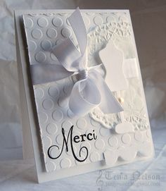 Merci Dressform Card by Tenia Sanders-Nelson - Cards and Paper Crafts at Splitcoaststampers
