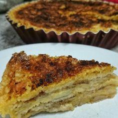 Receita de Torta de banana rápida. Enviada por katia vitorino e demora apenas 40 minutos.