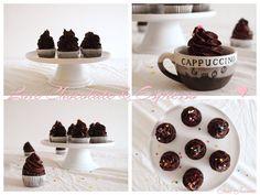 Čokoládové espresso cupcakes