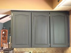Using Chalk Paint To Refinish Kitchen Cabinets Detailed Howto And How
