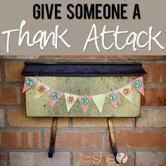 Thank you Attack! #howdoesshe #thankattack #thanksgivingideas howdoeshe.com