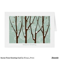 Shop Snowy Trees Greeting Card created by Kimiyo_Prints. Custom Christmas Cards, Christmas Greeting Cards, Holiday Cards, Snowy Trees, Holiday Essentials, Paper Texture, Moose Art, Prints, Christian Christmas Cards