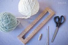Cómo hacer una bufanda de punto inglés - IMujer