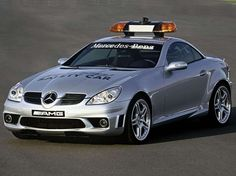 Mercedes SLK 55 AMG Safety Car