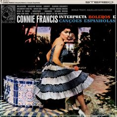 Connie Francis Sings Spanish and Latin American Favorites, Vintage Record Album, Vinyl LP, Popular Singer Actress, Latin Spanish Songs by VintageCoolRecords on Etsy Cd Cover Art, Vinyl Cover, Lp Vinyl, Connie Francis, Vinyl Store, Spanish Songs, Vinyl Sales, Vintage Vinyl Records, Pop Singers