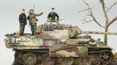 Model Tanks, Military Modelling, Ww2 Tanks, Figure Model, Panzer, Scale Models, Military Vehicles, Wwii, Action Figures