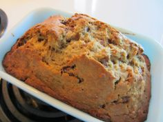 Peanut Butter Banana Bread - My Patchwork Quilt A distinctively different banana bread
