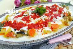 Tencerede Tek Seferde Karışık Kızartma Turkish Recipes, Ethnic Recipes, Turkish Delight, Hawaiian Pizza, Starters, Fruit Salad, Tea Time, Macaroni And Cheese, Side Dishes