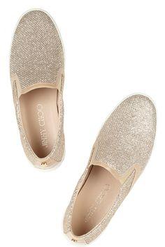 glittered jimmy choo sneakers
