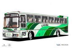 Will.Bus: Marcopolo III / Mercedes-Benz O-355 - (SP) Expres...