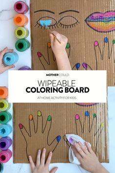 Art Activities For Kids, Preschool Learning Activities, Preschool Crafts, Infant Activities, Fun Crafts, Paper Games For Kids, Games For Kids Classroom, Kid Activites, School Age Activities