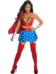 Find sexy Halloween costumes for women, men, and plus-size right here! Shop our selection for the best sexy Halloween costume ideas around! A revealing, sexy costume is sure to make your Halloween or cosplay event a memorable one. Wonder Woman Costumes, Wonder Woman Halloween Costume, Hallowen Costume, Halloween Dress, Women Halloween, Halloween Party, Halloween Cosplay, Superhero Halloween, Comic Costume