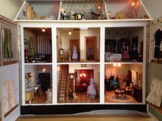 For Sale - Victorian mansion dolls house - The Dolls House Exchange