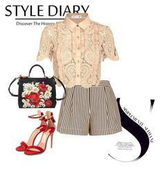 """style diary o(^-^o)(o^-^)o"" by masayuki4499 ❤ liked on Polyvore featuring 3.1 Phillip Lim, self-portrait, Salvatore Ferragamo and Dolce&Gabbana"
