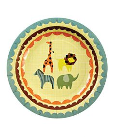 Cleanup is easy thanks to these charming party plates. Delightfully decorated, they add festive fun to any celebration and are conveniently disposable.