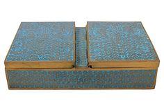Antique Cloisonné Box on OneKingsLane.com