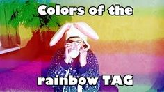 Colors of the rainbow TAG - CraftyRenate @ YouTube