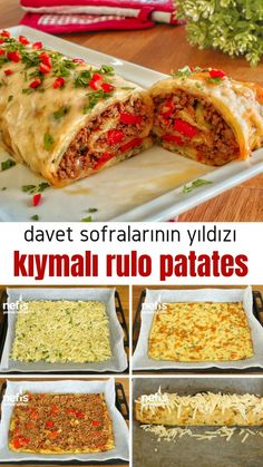 Videolu anlat m Davet Sofralar n n Y ld z Olacak K ymal Rulo Patates Tarifi nas l yap l r 582 ki inin defterindeki bu tarifin videolu anlat m ve deneyenlerin foto raflar burada Healthy Food Recipes, Keto Recipes, Dinner Recipes, Yummy Food, Dinner Ideas, Delicious Recipes, Sisig Recipe, Turkish Recipes, Ethnic Recipes