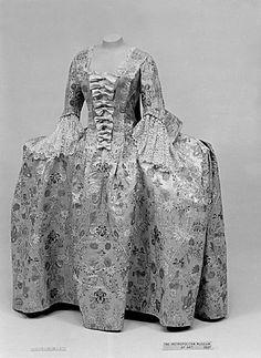 Dress Date: ca. 1750 Culture: British Medium: silk Accession Number: 36.145