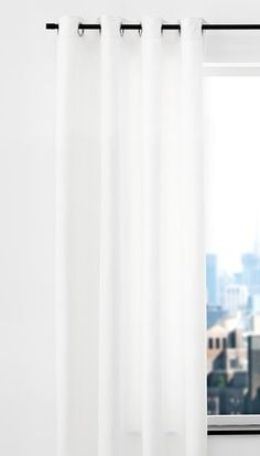 Gordijn ANTEN 1x140x245cm naturel Ramen, Curtains, Shower, Net Curtains, Rain Shower Heads, Showers, Tents, Drapes Curtains, Windows