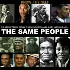 Or the fact these people have indigenous blood and on top of that all life comes from Africa