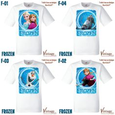 Disney Frozen Birthday Party Tshirt Ironon digital by VintageDS, $4.99