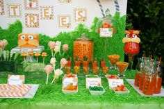 "lorax birthday party | ... of 12: The Lorax - Dr. Seuss / Birthday ""The Lorax"" 