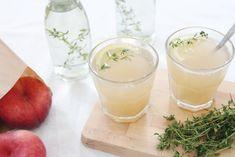 Durstlöscher // Pfirsichlimonade