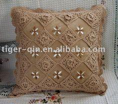 trabalhos em croche almofadas - Pesquisa Google