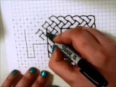 Celtic Knot and New Pattern Tutorial I really like the new pattern that starts around 7:50