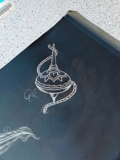 Tattoo sketch # tattoo idea # traditional tattoo # spinning top tattoo # neo…