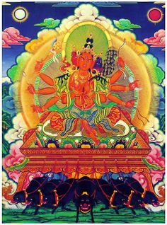 """Marichi by lanjee, 2013 , Buddha Buddhism, Tibetan Buddhism, Buddhist Art, Zen Chinese, Vajrayana Buddhism, Buddhist Philosophy, Green Tara, Taoism, Sacred Art"