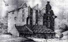 Drawing of Faside Castle. Holiday Accommodation, Ancestry, Edinburgh, Cathedral, Castle, Drawings, Building, Painting, Travel