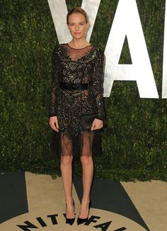 Kate Bosworth was spotted in the sheer trend with a Prabal Gurung | Currently Trending: Sheer Appeal | POPSUGAR Fashion Australia