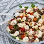 Parmesan, Mozzarella, Cobb Salad, Potato Salad, Salads, Ethnic Recipes, Yum Yum, Inspiration, Food