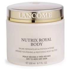 Buy Lancôme Nutrix Royal Body Cream 200ml , luxury skincare, hair care, makeup and beauty products at Lookfantastic.com with Free Delivery.