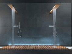 OVERHEAD SHOWERS Overhead shower by RARE design Mihran Rovelli Manoukian