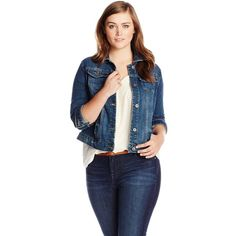 Lucky Brand Women's Plus-Size Denim Jacket and other apparel, accessories and trends. Browse and shop related looks.