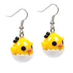 Chickadee Earrings