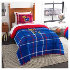 NCAA Twin Applique Comforter and Sham