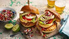 Barbecue Recipes, Burger Recipes, Veggie Recipes, Vegetarian Recipes, Vegetarian Barbecue, Vegetarian Burgers, Veggie Burgers, Vegetarian Tart, Healthy Grilling