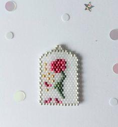 Beauty & The Beast Seed Bead Patterns, Beaded Jewelry Patterns, Beading Patterns, The Beast, Brick Stitch Earrings, Beaded Crafts, Tear, Seed Bead Jewelry, Bead Crochet