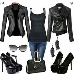 I love both jackets! Think I would prefer B though